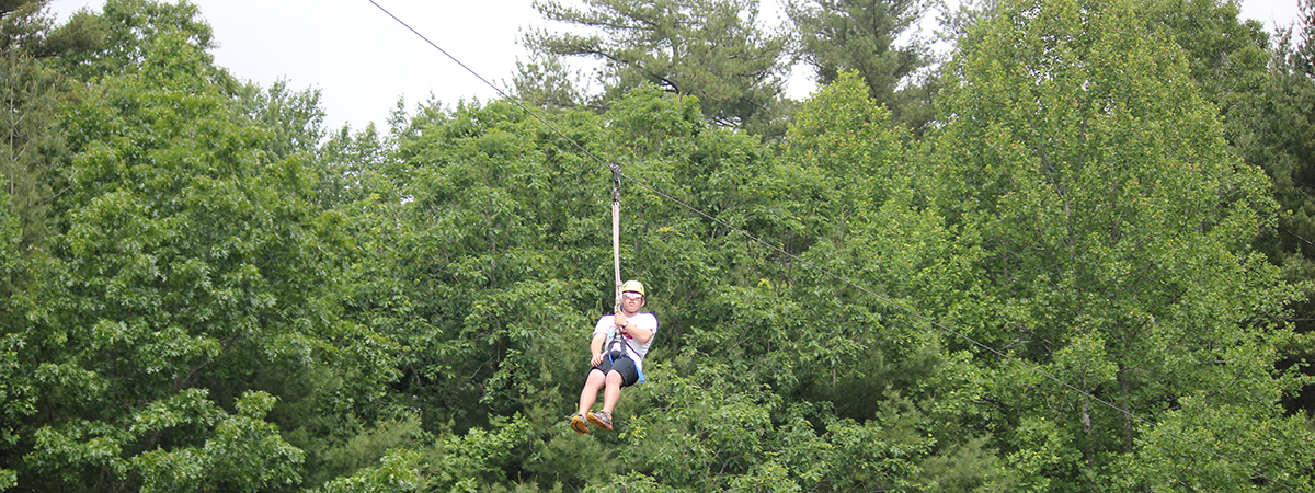 Big Zipline in Western NC Mountains