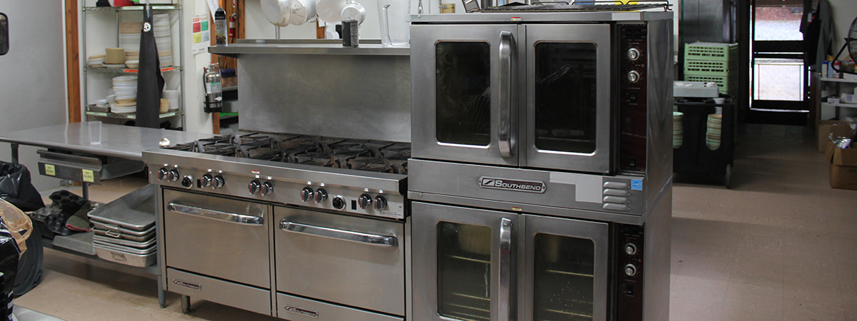 Commercial kitchen Western NC Retreat